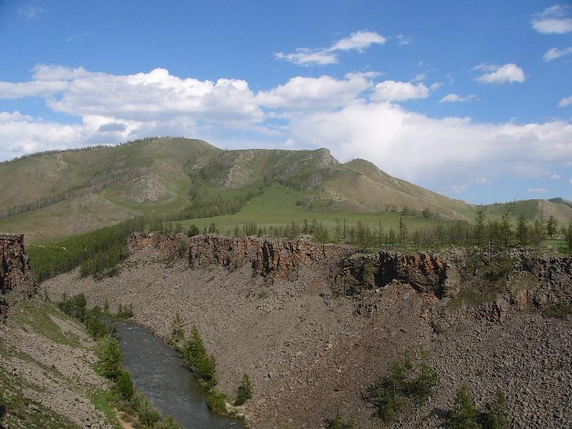 canyon Mongolie