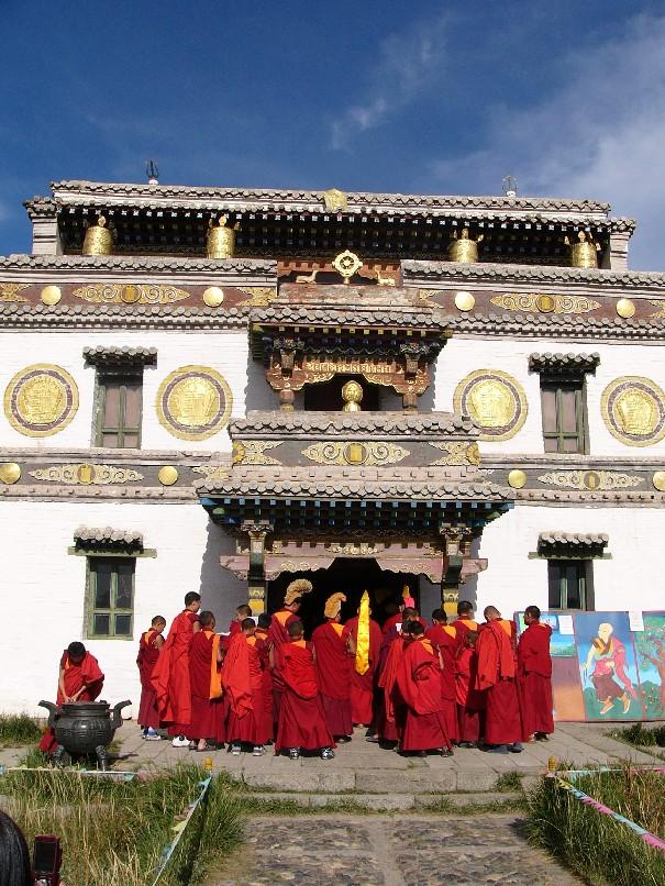 moines monastere karakorum