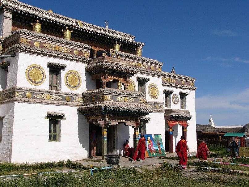 monastere mongolie