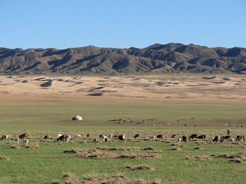 desert en Mongolie