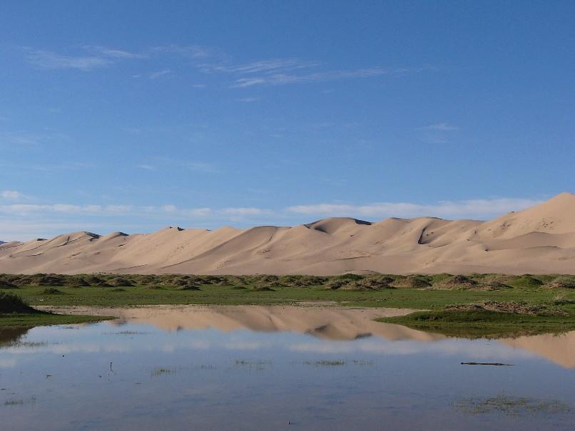 dunes desert gobi