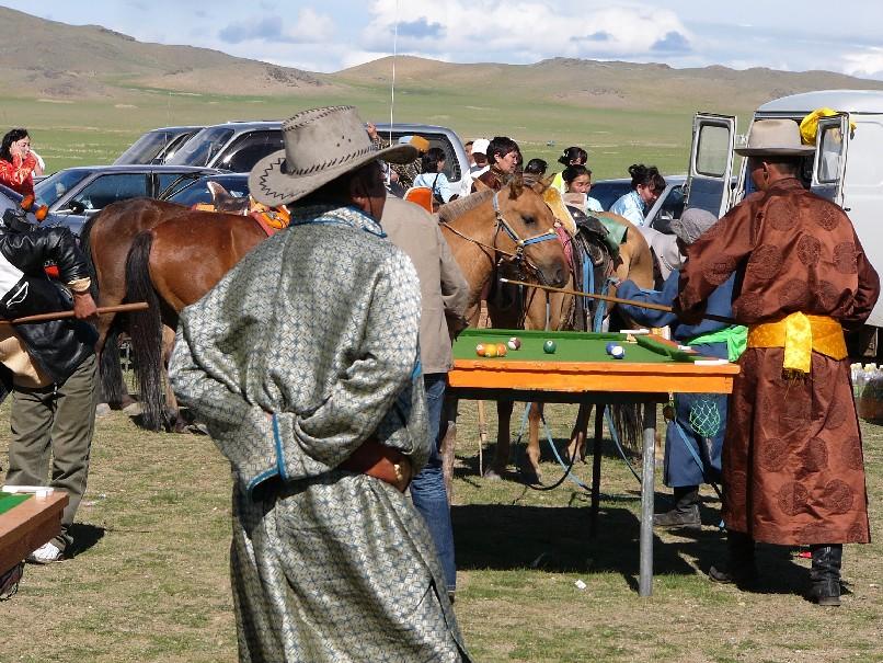 billard mongolie