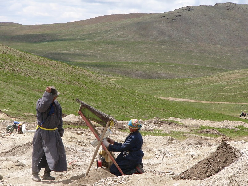 chercheurs d'or Altai