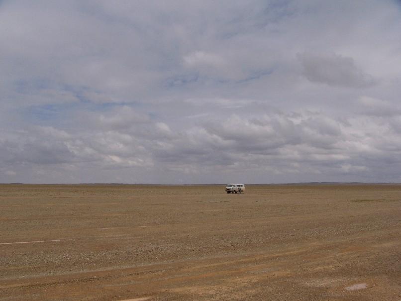paysage gobi
