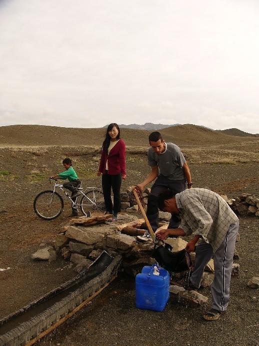 puits desert de gobi